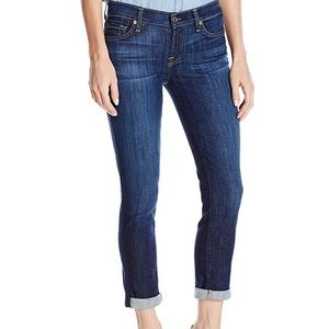 7 for all mankind - Skinny crop and roll